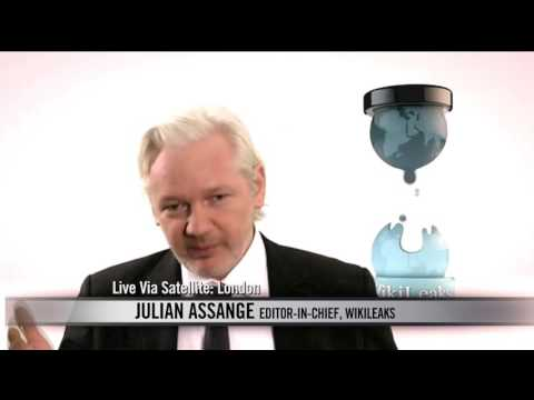Bill Presses Julian Assange on Playing Fair   Real Time with Bill Maher (HBO)