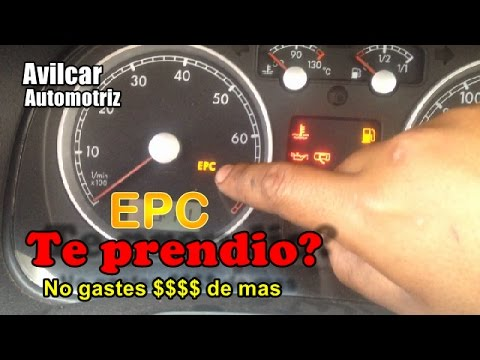 Prendio el EPC y no falla problema comun solucion vw Avilcar Automotriz