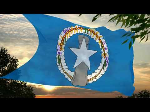 Flag and anthem of Northern Mariana Islands
