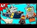 Lego City Deep Sea Exploration Vessel 60095 Stop Motion Build Review