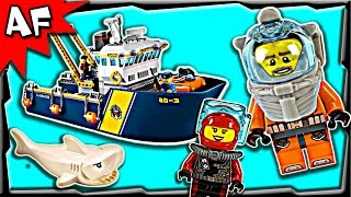 Lego City Deep Sea Exploration Vessel 60095 Stop Motion Build Review