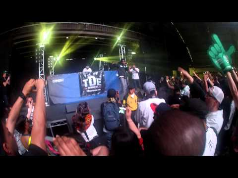 Ab-Soul - Turn Me Up LIVE Paid Dues 4/7/12