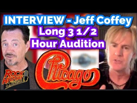 Jeff Coffey On His 3 1/2 Hour Chicago Audition With Neil Donell