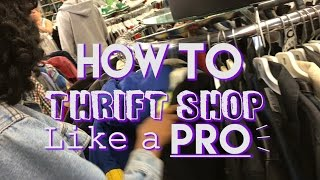 KEY TO THRIFTING 🔑 | Thrift Tips, Thrift Store Haul, and Lookbook!