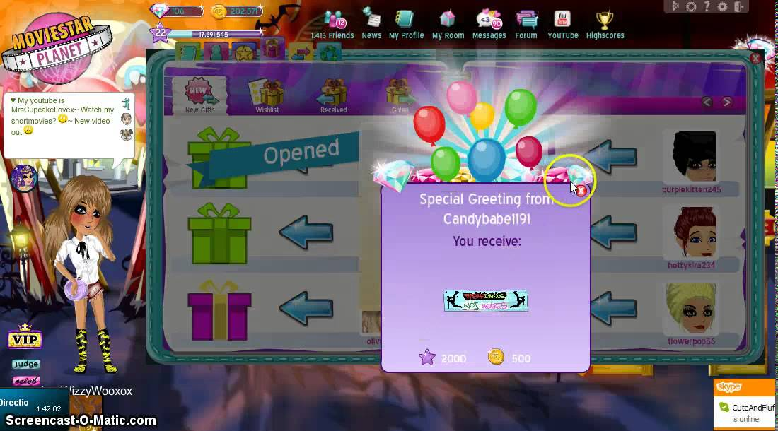 how to get free money on movie star planet