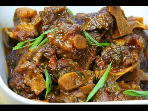 WARNING! The BEST Stewed Oxtails Recipe   CaribbeanPot.com