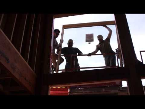 Window Installation - New Custom Home in Old Fort, NC