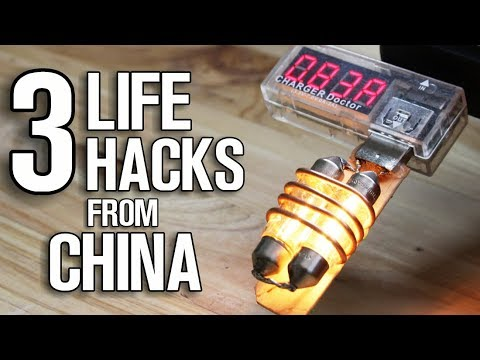 3 Life Hacks Or Gadgets From China