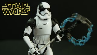 STAR WARS Black Series The Last Jedi Stormtrooper Executioner Figure Review