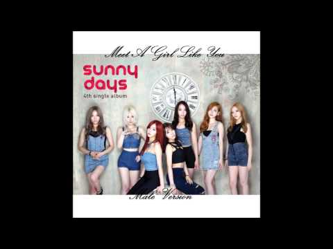 Sunny Day - Meet A Girl Like You [Male Version]