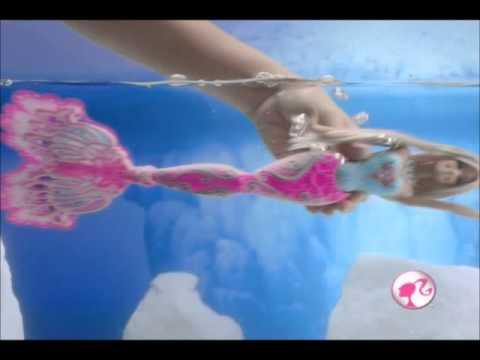 Boneca Barbie Sereia Cores Mágicas Mattel na Kids e Cia
