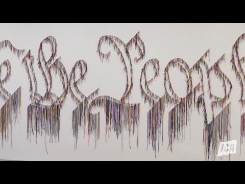 We the People: Artist Nari Ward | The Institute of Contemporary Art/Boston