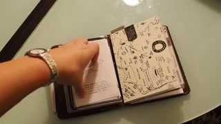 zenkraft north face a6 bifold traveler s notebook