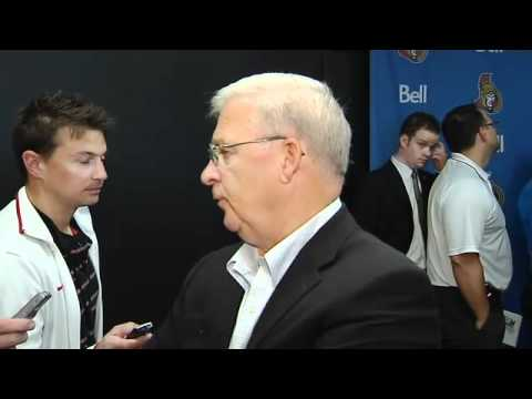 New Senators' Coach - Interview with Bryan Murray