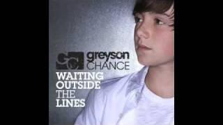 Paparazzi - Greyson Chance [studio version] + (sidebar lyrics)