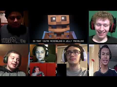 MINECRAFT SKELETON RAP | ZAMination Version (Animated Music Video) Dan Bull [REACTION MASH-UP]#482