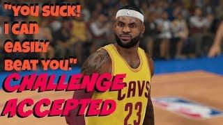 NBA 2K15 Online | Blazers v Cavs | Cheese DBL Screen Plays