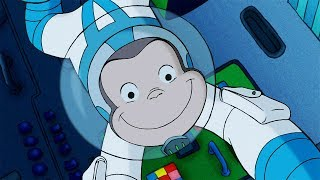 Curious George 🐵Curious George's Rocket Ride 🐵Full Episode 🐵 HD 🐵 Cartoons For Children