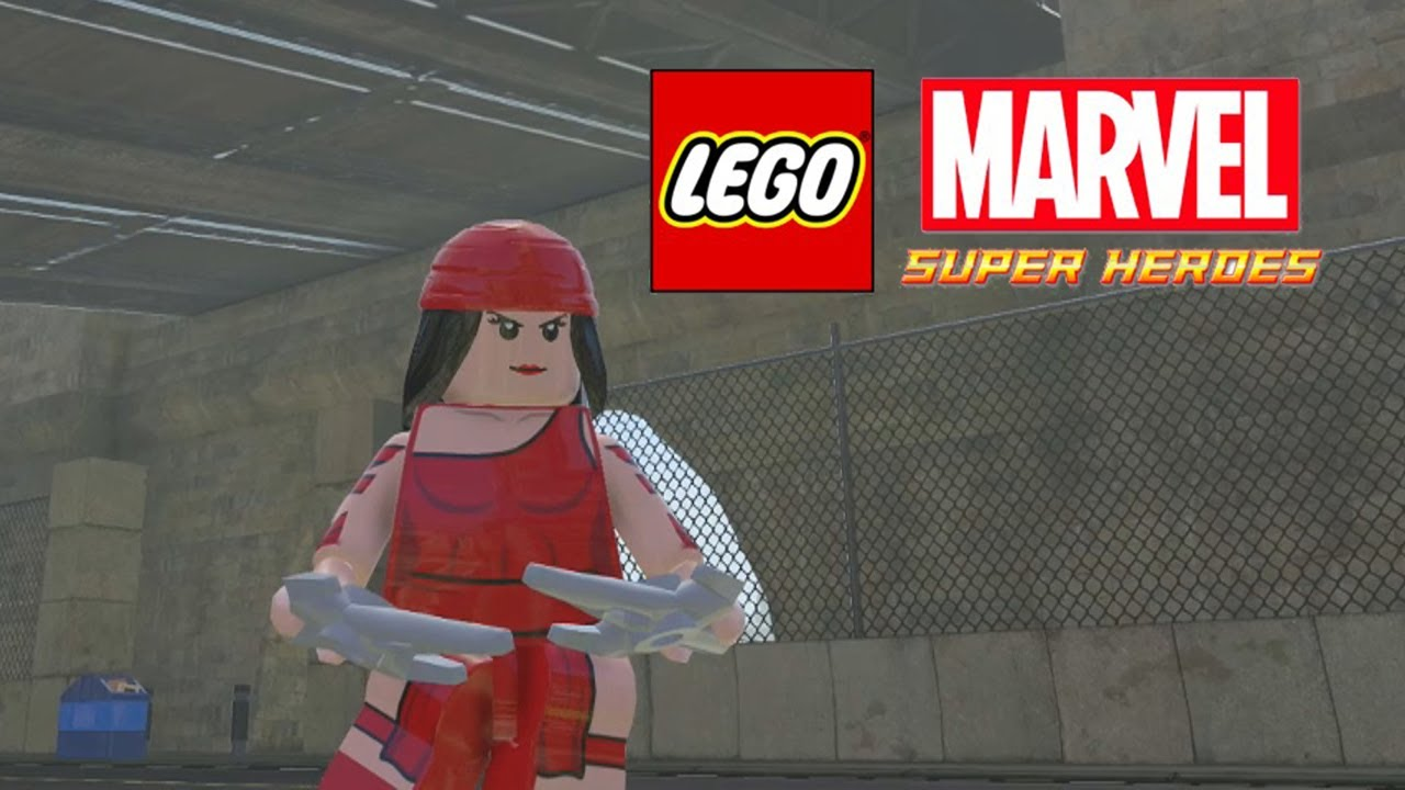 Lego Marvel-Elektra Free Roam - YouTube