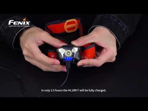 Senter Kepala Fenix HL18R-T Trail Running Headlamp