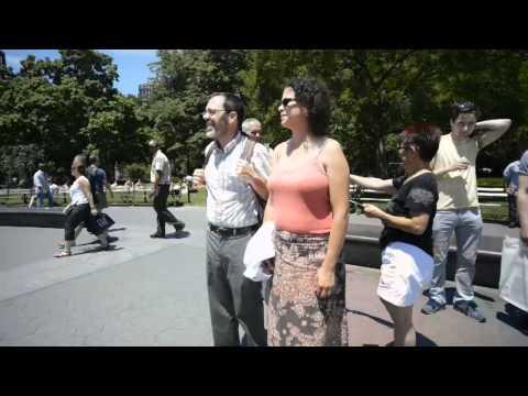Hit and Run Hula In New York City (Na Lei Hulu I Ka Wekiu)