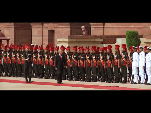 Ceremonial Reception of President of the Republic of Seychelles - 26-08-15