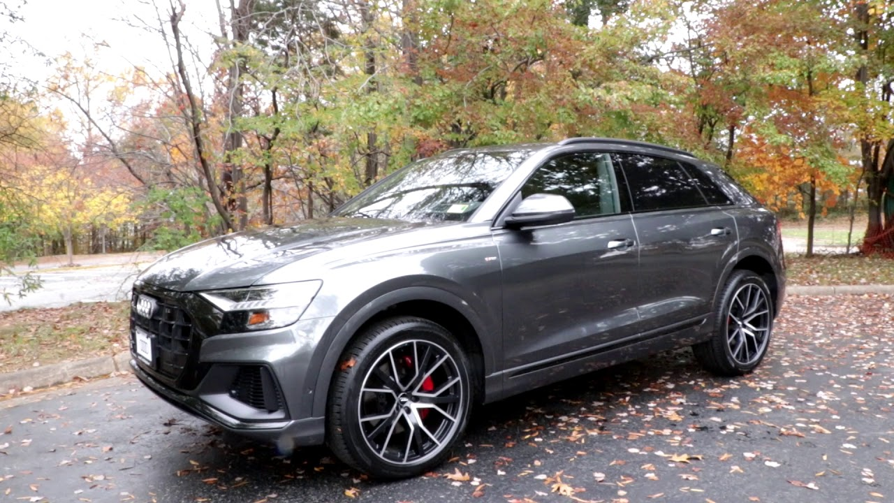 medium resolution of 2019 audi q8 first look mini review