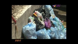 Пляж на Мамайке превращается в мусорку
