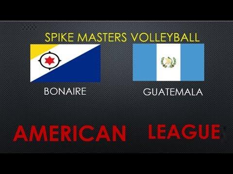 Bonaire x Guatemala - American League - Round 5