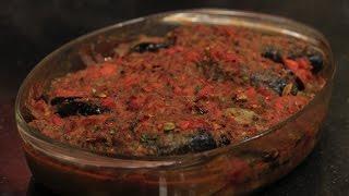 صينية سمك بلطي بالصلصة | الشيف شربيني
