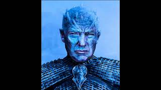 DONALD TRUMP'S WHITE WALKERS A GAME OF THRONES