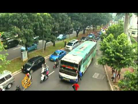 Jakarta bursting at seams