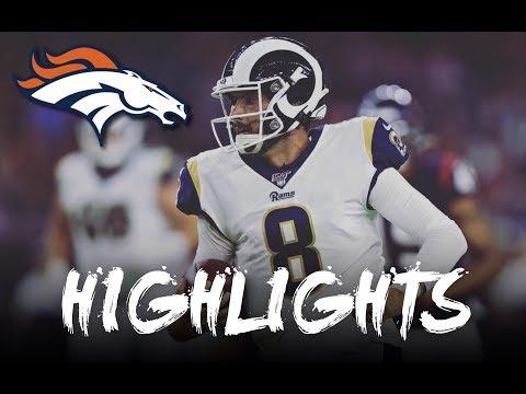 "Brandon Allen   ""Welcome To Denver ""   Rams And Jaguars Highlights"