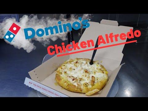 Domino's Bread Bowl Pasta Alfredo (HOW IT'S MADE)