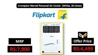 Crompton Marvel Personal Air Cooler (White, 20 Litres)
