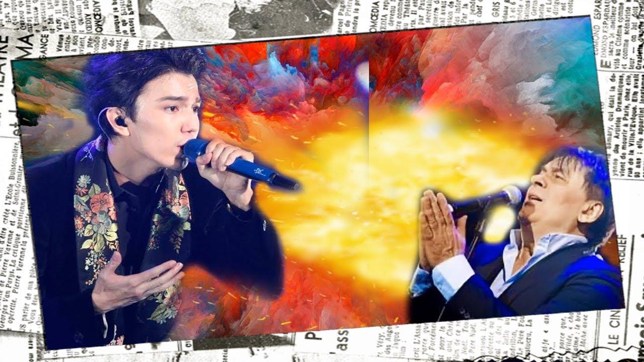Dimash Серов певец приехал в Казахстан и встал на колени перед Димашем Кудайбергеном