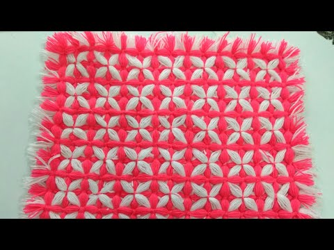 make  baby  woolen blanket without salai and crochet