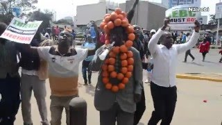 Chaos as Cord supporters clash with police in anti-IEBC demos