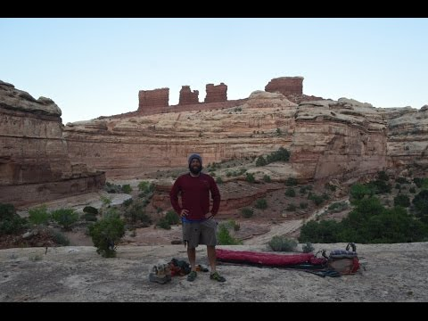 Backpacking Canyonlands National Park: 10 Days In The Maze, 2015.