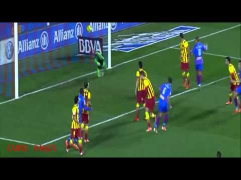Levante vs Barcelona 1-1 goles - goals HD - 동영상