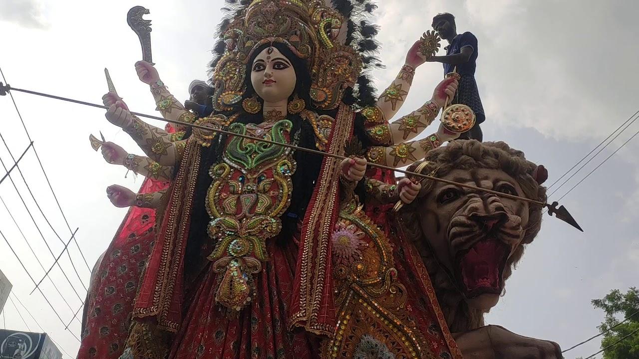 Download Betiahata Ki Maharani 2019 , Visarjan Shobhayatra Live Performance By TAHALKA DHAMAL DHOL ,SATNA .MP