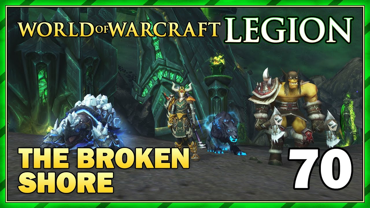 how to get to the broken shore wow