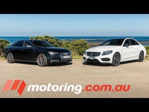 Audi S4 v Mercedes-AMG C43 Comparison Test | motoring.com.au