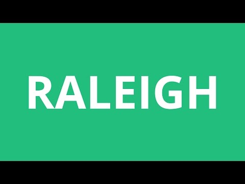 How To Pronounce Raleigh - Pronunciation Academy