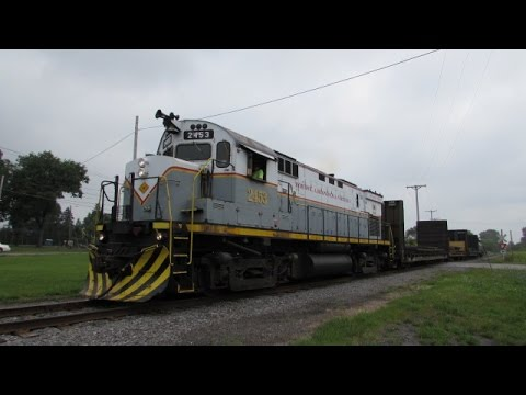 MA&N Utica to Rome and Back, Classic Alco C425 Kickin' Cars and More 9/1/15