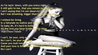 Ariana Grande   Only 1 LYRICS