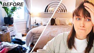 clean with me + boyfriend's apartment tour!