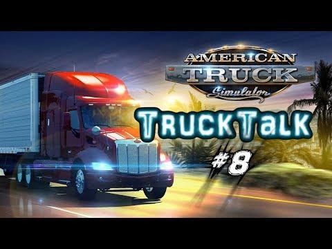 Truck Talk #08 - Kanalupdate, Eigener Truck, Pläne / American truck Simulator