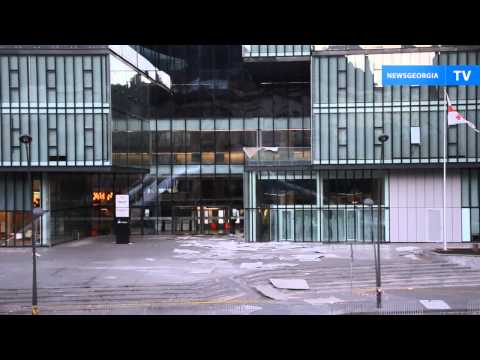 Ураган в Тбилиси : пострадало здание Дома юстиции