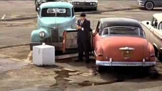 """Hitchcock's """"The Birds"""" (1963) - Gas Station Scene"""